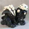 миниатюра Лесной дух  (кость-бивень мамонта, черное дерево)