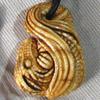 ожерелье Спящий дракон из бивня мамонта и черного дерева